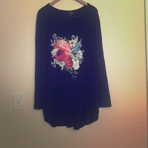 Long Sleeve Torrid Graphic Tee